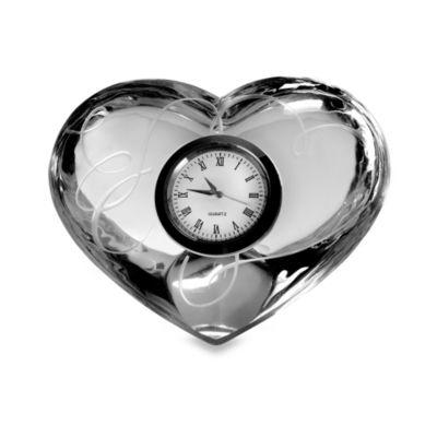 Mikasa® Love Story Clock