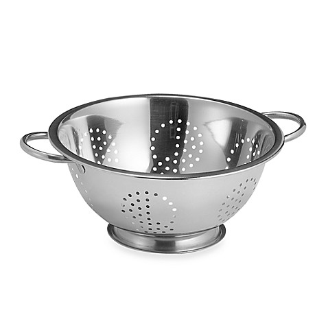 Focus Stainless Steel 5 Qt Colander Bed Bath Amp Beyond