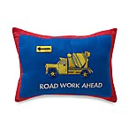 Men at Work Oblong Pillow