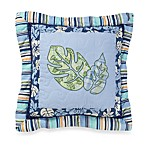 Tropical Boy 16-Inch Square Toss Pillow