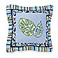 Tropical Boy 16-Inch Square Throw Pillow