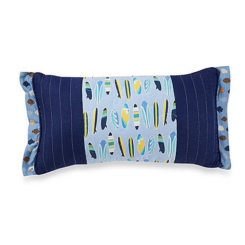 Tropical Boy Oblong Pillow