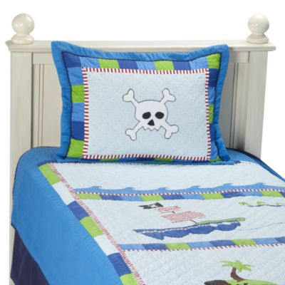 Bedding Juvenile > Pirate's Life Full Quilt Set