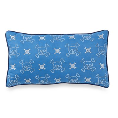 Oblong Toss Pillow in Pirate's Life