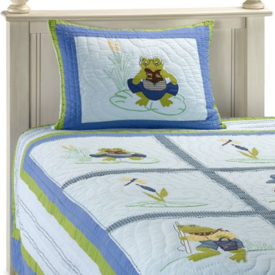 Bedding Juvenile > Leap Frog Full Quilt Set