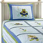 Leap Frog Full Quilt Set