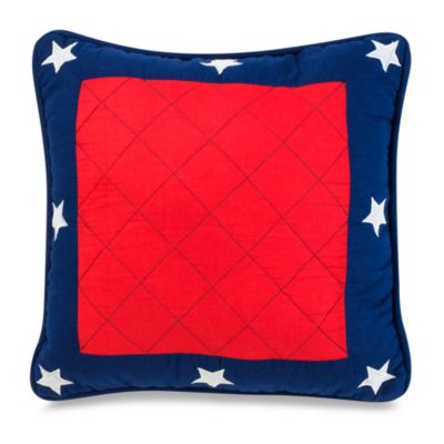Champs 16-Inch Square Toss Pillow