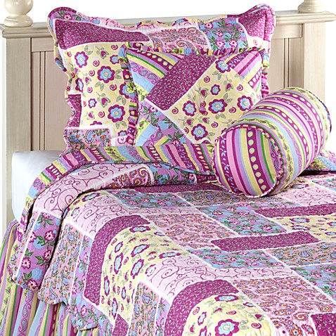 Wendy Quilt Set, 100% Cotton