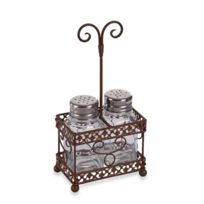 Salt and Pepper Metal Caddy