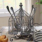 Spinning Wire Utensil Holder