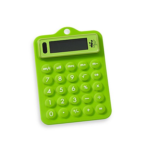 Flexible Solar Calculator in Green