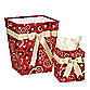 Glenna Jean Cassidy & Banjo Tissue Cover and Waste Basket
