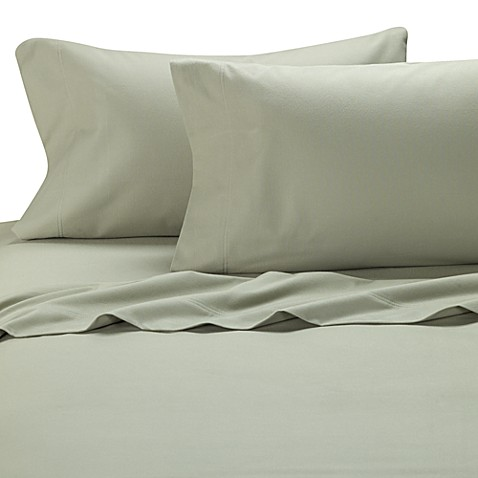 Palais Royale™ Flannel King Pillowcases (Set of 2) in Sage