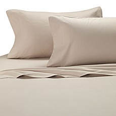 Palais Royale™ California King Flannel Sheet Set in Canvas