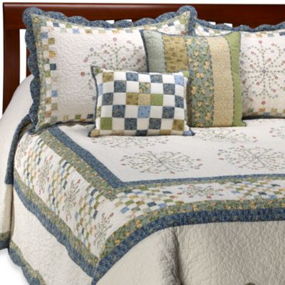 Blue Bedspread Full