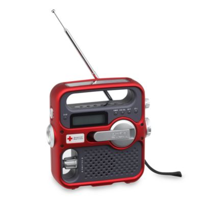 American Red Cross Emergency Preparedness Radio