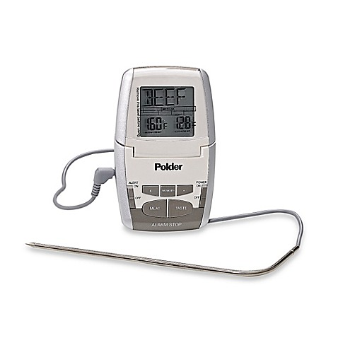 Polder® Deluxe Preset Meat Thermometer