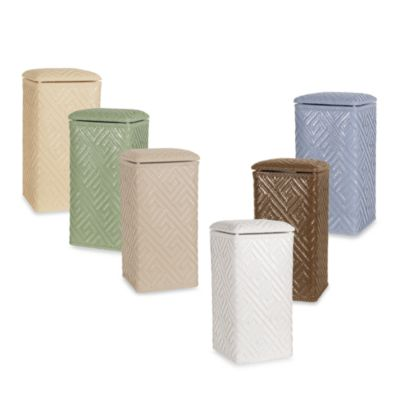 Linen Upright Hamper