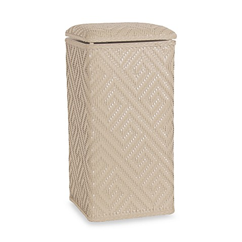 Athena Apartment Upright Hamper in Linen