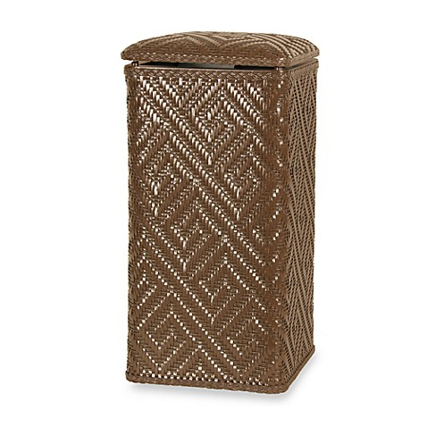 Athena Apartment Upright Hamper in Chocolate