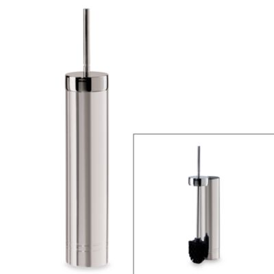 Oggi™ Slim and Trim Toilet Brush in Stainless Steel