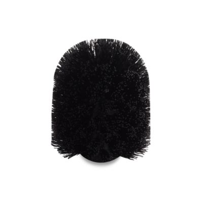 Replacement Brush Head for the Satin Nickel Pedestal Toilet Bowl Brush