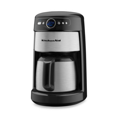 Kitchenaid Coffee Maker 12 Cup Thermal : KitchenAid 12-Cup Thermal Carafe KCM223 Coffee Maker - Black Onyx - Bed Bath & Beyond