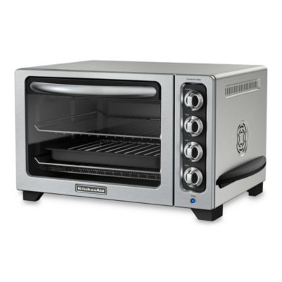 KitchenAid® 12-Inch Convection Bake Countertop Oven in Countour Silver