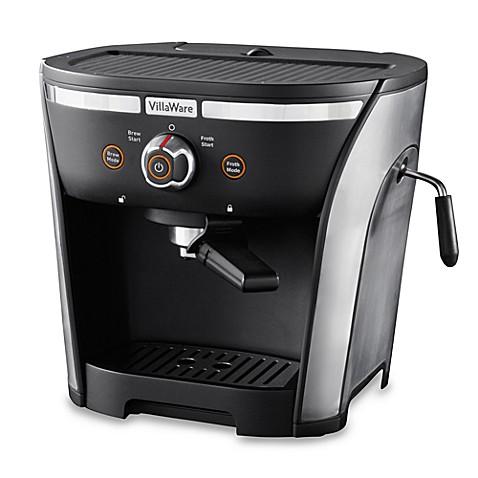 villaware espresso machine