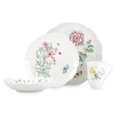 Lenox® Butterfly Meadow® 4-Piece Place Setting