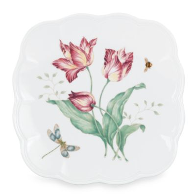 Lenox® Butterfly Meadow® 9 1/4-Inch Square Accent Plate