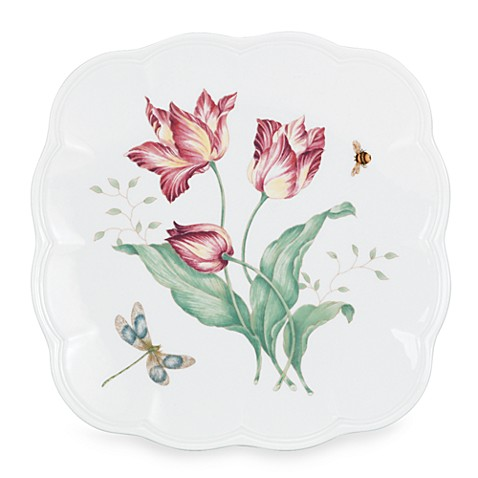 Lenox® Butterfly Meadow® 9.25-Inch Square Accent Plate
