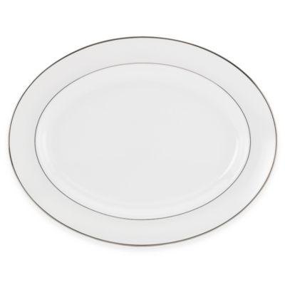Lenox® Opal Innocence™ Stripe 16-Inch Oval Platter