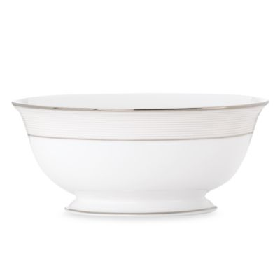 Striped Serving Bowls
