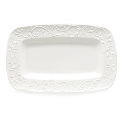 Lenox® Opal Innocence™ Carved Hors D'oeuvres Platter