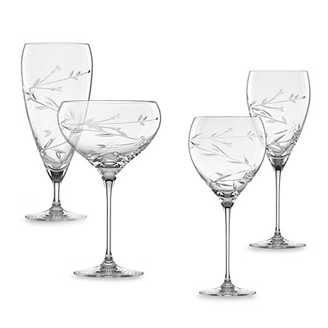 L by Lenox® Floral Bouquet Crystal Stemware