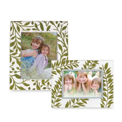 Lenox® Botanical Boutique 5-Inch x 7-Inch Crystal Frame