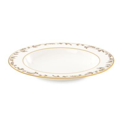 L by Lenox® Golden Bough 9-Inch Pasta/Rim Soup Bowl