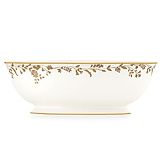 L by Lenox® Golden Bough 9 1/2-Inch Vegetable Bowl