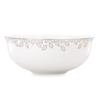 Lenox® Platinum Leaf 10-Inch Serving Bowl
