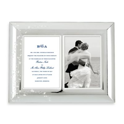 kate spade new york Gardner Street™ Double Invitation Frame