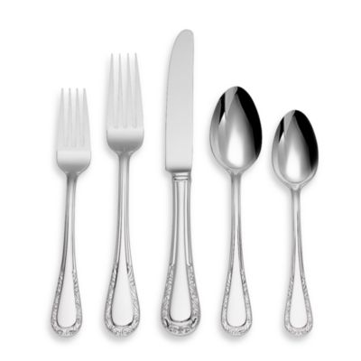 Lenox® Venetian Lace 5-Piece Flatware Place Setting