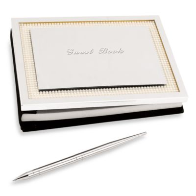 Lenox® Jubilee Pearl Guest Book with Pen