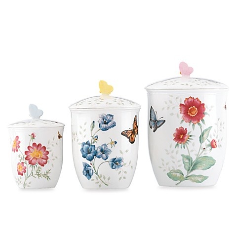 Lenox® Butterfly Meadow® Canisters (Set of 3)
