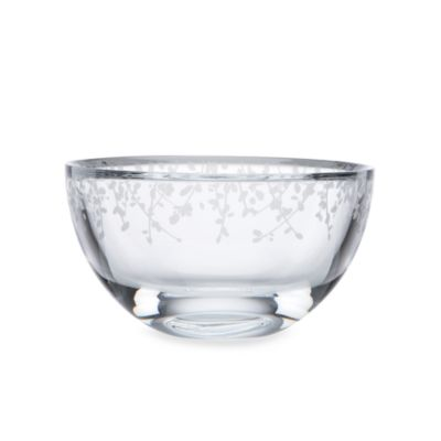 kate spade new york Gardner Street Crystal Bowl