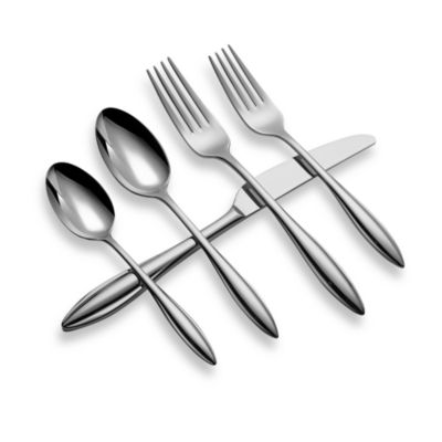 Lenox® Sculpt 65-piece Flatware Set