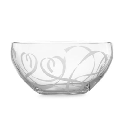 Lenox® True Love 8-Inch Crystal Bowl