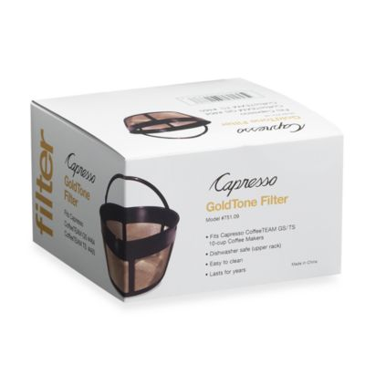 GoldTone Filter for Capresso® Coffee Makers # 465 and # 464