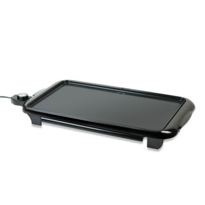 Nostalgia Electrics™ Nonstick Electric Griddle with Draw Warmer
