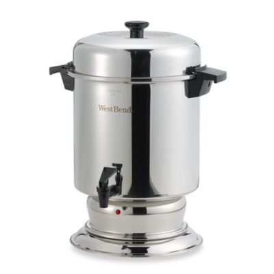 West Bend® 55-Cup Commercial Stainless Steel Coffee Urn